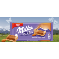 Milka Táblás Almond-Mandula 90g /24/