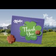 Milka         desszert 120 g thank you tej