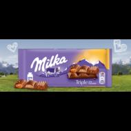 Milka         tejcsoki 90 g triple caramel