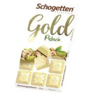 Schogetten Gold Fehércsokoládé Pisztáciával 100g