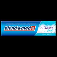 Blend-a-med fogkrém 100 ml 3d white fresh