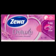 Zewa Deluxe papírzsebkendő levendula 90db