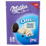 Milka Oreo Mini Fehér 153g