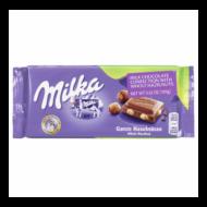 Milka         tejcsoki 100 g whole hazelnut egész mogy