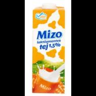 MIZO UHT Laktózmentes tej _ 1.literes / 1,5%-os