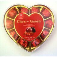Cherry Queen konyakmeggy szívdoboz 125g