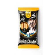 BUSTER NATÚR Dental stick kutya fogtisztító, marhahúsliszttel 45g 5-10kg