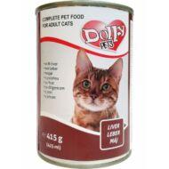 Dolly Cat macskaeledel konzerv máj 415g