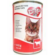 Dolly Cat macskaeledel konzerv marha 415g