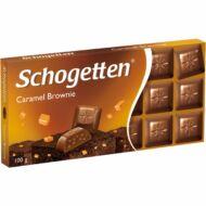 Schogetten csokoládé 100g Caramel Brownie