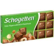 Schogetten Táblás Mogyorós csokoládé 100g /15/