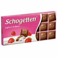 Schogetten csokoládé 100g Yoghurt Strawberry