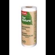 Paclan for Nature bambusz törlőkendő tekercsen 40cm*25cm 40 db