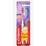 Colgate fogkefe ZigZag Plus közepes 1+1db