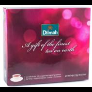 Dilmah Gift of the Finest Tea 40 piros doboz filteres fekete és zöldtea 75g