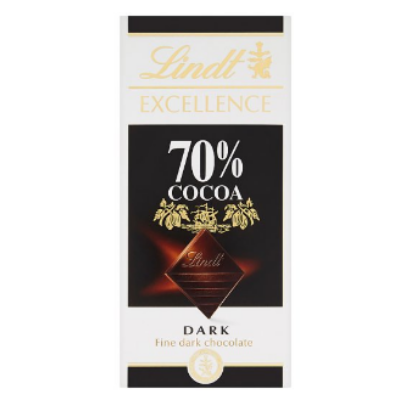 Lindt Excellence csokoládé 70% Cocoa 100g