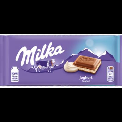 MILKA JOGHURT 100G TÁBLÁS /23/