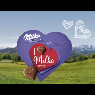 Milka I Love desszert 165g /12/
