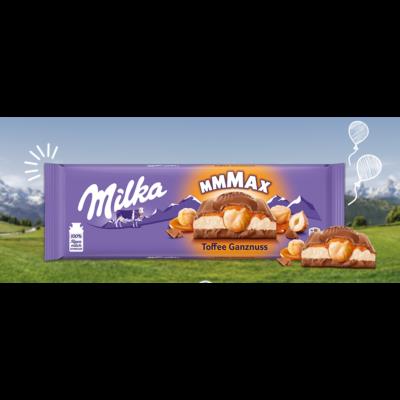 MILKA Toffee Egészmogy 300g /12/
