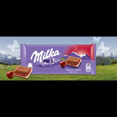 Milka         tejcsoki 100 g cherry cream