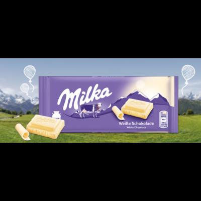 Milka         tejcsoki 100 g white chocolate