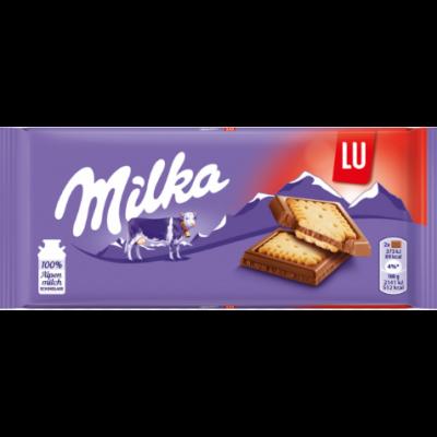Milka         tejcsoki 87 g lu édes kekszes