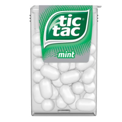 Tic Tac       cukordrazsé 18 g mentolos