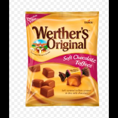 Werther's Original Chocolate Toffee 70g /18/