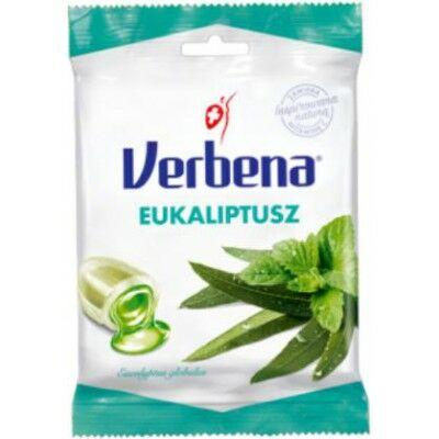 Verbena cukorka 60 g eukaliptusz (min.rendelés 10db)