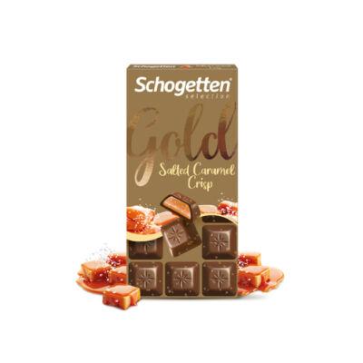 Schogetten Gold Tejcsokoládé Sóskaramellel 100g