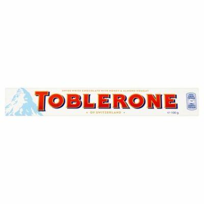 Toblerone fehér 100g