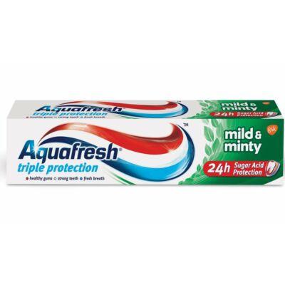 Aquafresh fogkrém 100 ml mild&minty