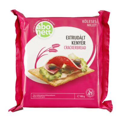 Abonett extrudált kenyér 100g gluténmentes köleses