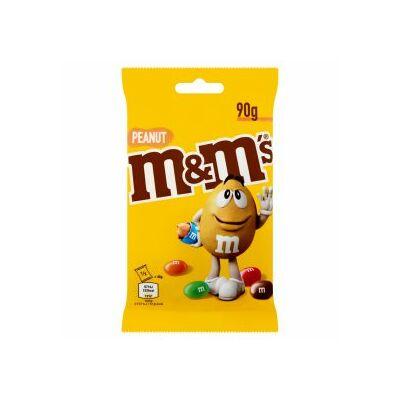 M&M's Cukorka 90g, földimogyorós