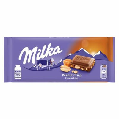 Milka Peanut Crisp 90g /24/