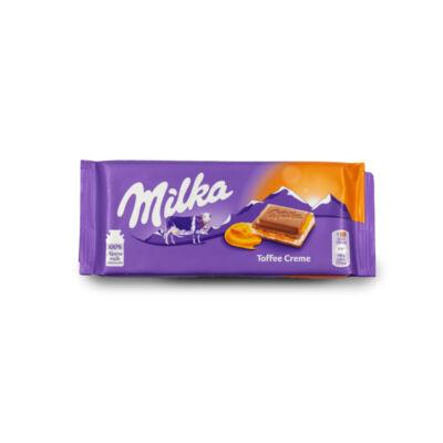 Milka Toffee Táblás 100g /23/