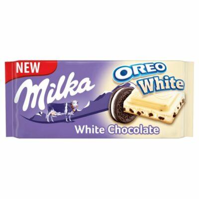 Milka Oreo White Táblás 100g