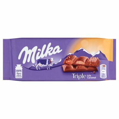 Milka Triple Caramel tejcsoki 90g