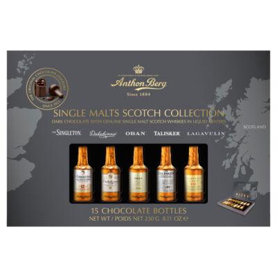 Anthon Berg Single Malt Scotch whiskyvel tt. csokoládék 10db-os 155G