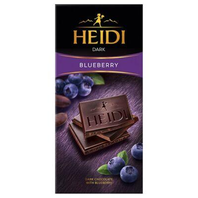 Heidi Dark Blueberry Étcsokoládé Kékáfonya 80g