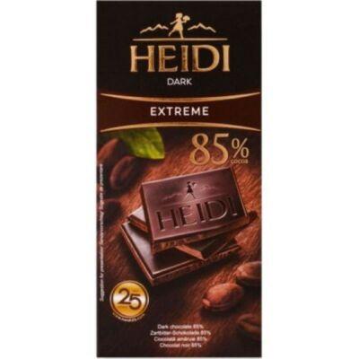 Heidi Étcsokoládé 85% 80g