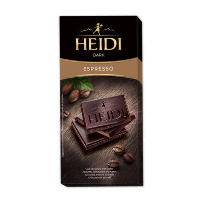 Heidi Étcsokoládé Coffee 80g
