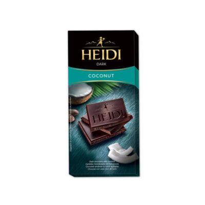 Heidi Étcsokoládé Kókusz 80g