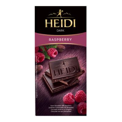 Heidi Étcsokoládé Málna 80g