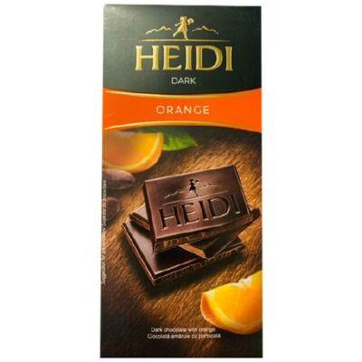 Heidi Étcsokoládé Narancs 80g /20/
