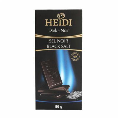 Heidi Étcsokoládé Dark Black Salt 80g