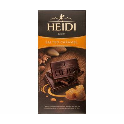 Heidi Étcsokoládé Sós Karamellás 80g