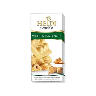 Heidi Grand'or Fehércsokoládé Egészmogyoró 100g