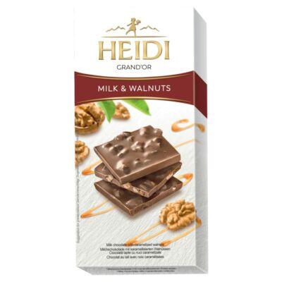 Heidi Grand'Or Tejcsokoládé dióval 90g