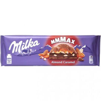 Milka Almond Caramel táblás csokoládé 300g